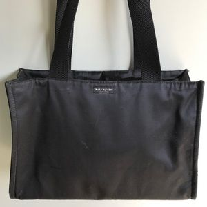 Kate Spade Black Nylon Large Tote - Gently Used